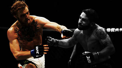 Conor Mcgregor And Chad Mendes Poster