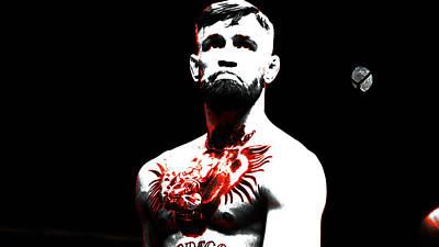 Conor Mcgregor The Ultimate Warrior Poster