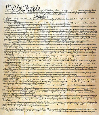 Constitution Poster by Granger