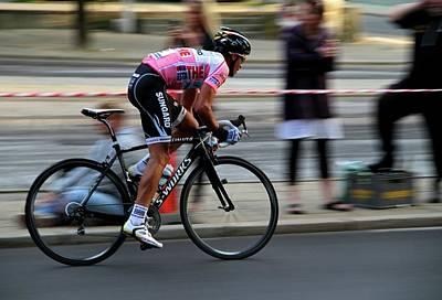 Contador Street Racer Poster by Odd Jeppesen