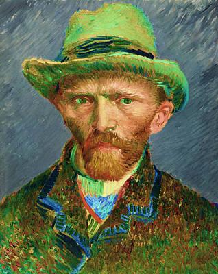 Contemporary 2 Van Gogh Poster by David Bridburg