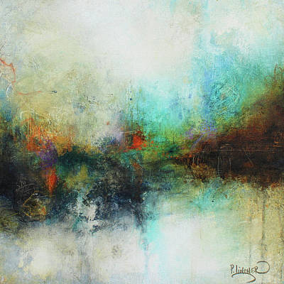Contemporary Abstract Art Painting Poster by Patricia Lintner