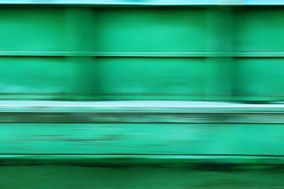 Conveyance - River Barge - Abstract Poster