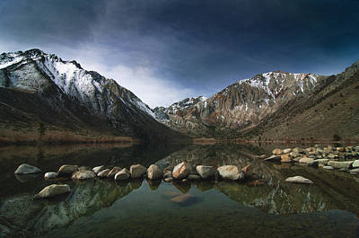 Convict Lake Poster by Ralph Vazquez