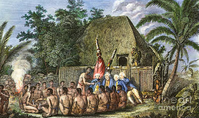 Cook:sandwich Islands 1779 Poster by Granger