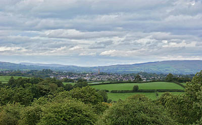 Cookstown Viewed From Tullyhogue Fort Poster