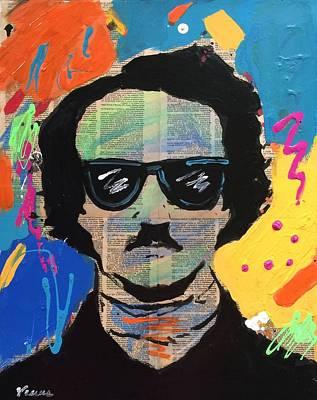 Cool Edgar Allan Poe Poster by Venus