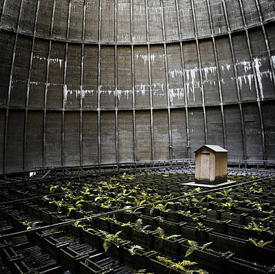Poster featuring the photograph Cooling Tower Petit Maison by Dirk Ercken