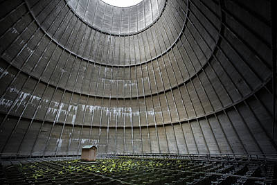 Poster featuring the photograph Cooling Tower Secret Little House by Dirk Ercken