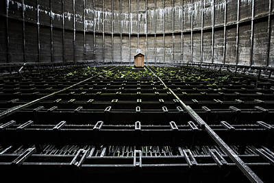 Poster featuring the photograph Cooling Tower Water Distribution by Dirk Ercken