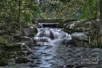 Poster featuring the photograph Cooling Waters  by Tamyra Ayles