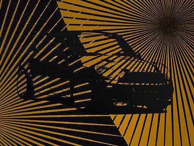 Cooper Black And Gold Poster