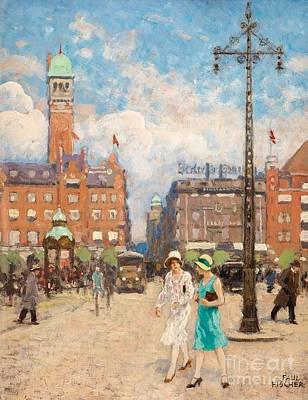 Copenhagen Poster by MotionAge Designs