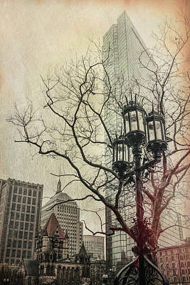 Poster featuring the photograph Copley Square - Boston by Joann Vitali