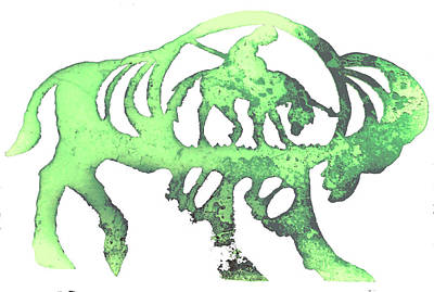Copper Buffalo Poster