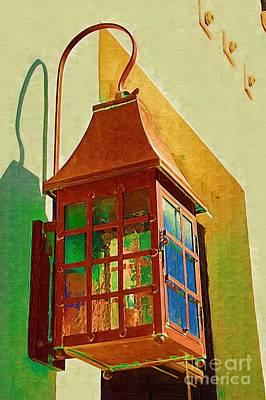 Copper Lantern Poster