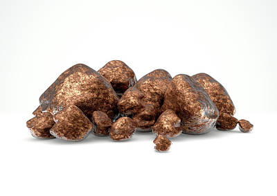 Copper Nugget Collection Poster