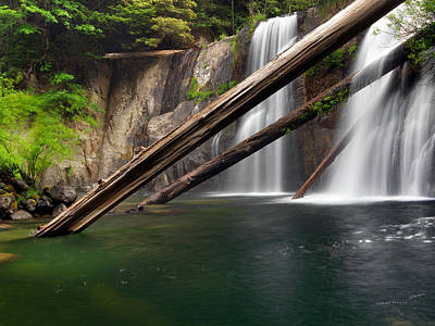 Coquille Falls 4 Poster