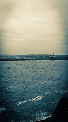 Poster featuring the photograph Coquille River Lighthouse by Pacific Northwest Imagery