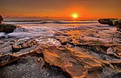 Coral Cove Sun Poster