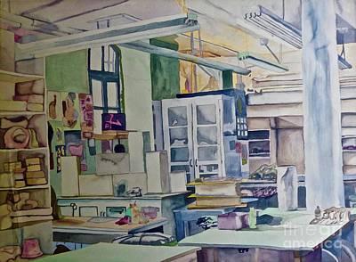Corcoran School Of Art Ceramic Studio Back In The Days Poster