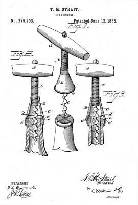 Corkscrew 1883 Poster
