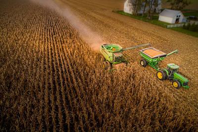 Corn Dust Poster