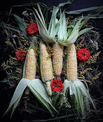 Corn Harvest Poster