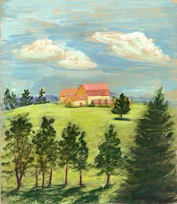 Cornell Plantations Ithaca Ny Poster by Ethel Vrana