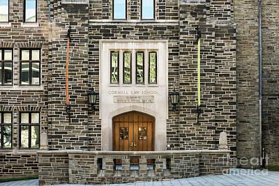 Cornell University School Of Law Poster