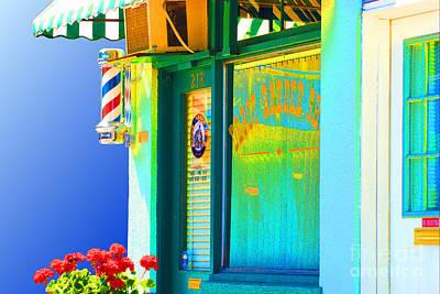 Corner Barber Shop Poster