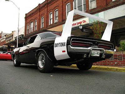 Corner Of Daytona And Main Poster by Darin Bastedo
