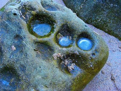 Corner Stone, Holy Trinity Refreshing Pools Poster by Darla J Bower Oder