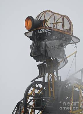 Cornwall Man Engine Poster by Terri Waters