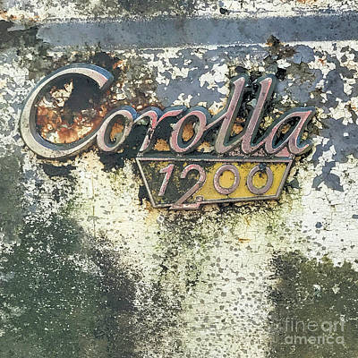 Poster featuring the photograph Corolla 1200 by Terry Rowe