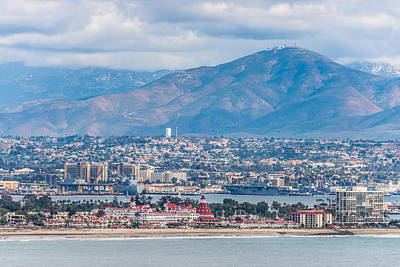 Coronado Coast - San Diego Photograph Poster by Duane Miller
