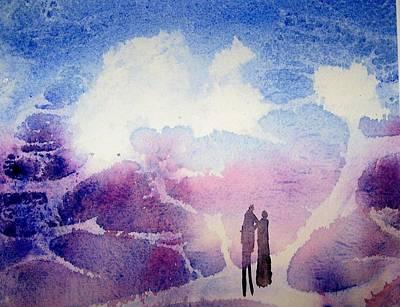 Coronado Island Wedding Poster by Anne Duke