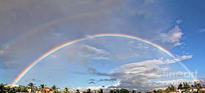 Coronado Rainbows Poster