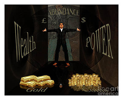 Corridor Of Wealth Poster