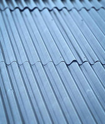 Corrugated Iron Roof Poster