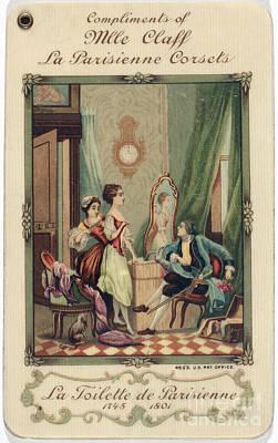 Corset Trade Card, 1912 Poster