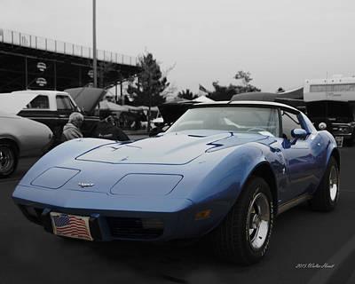Corvette 1 Poster by Walter Herrit