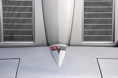 Corvette Hood Poster