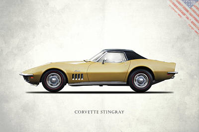 Corvette Stingray 1969 Poster