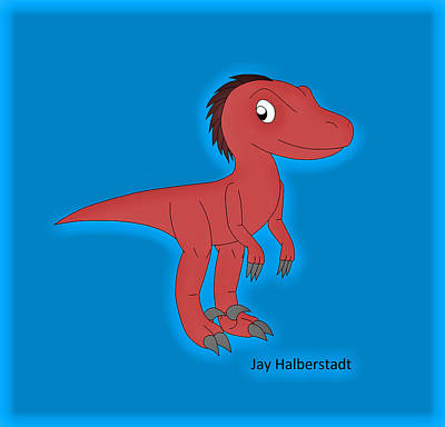 Cory Raptor Poster