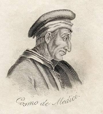 Cosimo De Medici Byname Cosimo The Poster