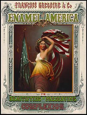 Cosmetics Ad 1866 Poster