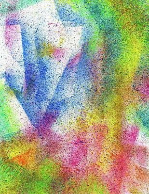 Cosmic Amon Ray #552 Poster by Rainbow Artist Orlando L aka Kevin Orlando Lau
