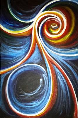 Cosmic Drifter Poster