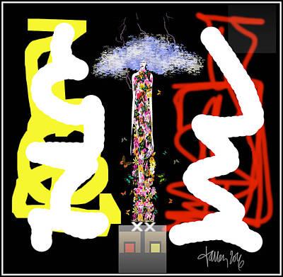 Cosmic Geisha - Angry Mountain Messenger Poster